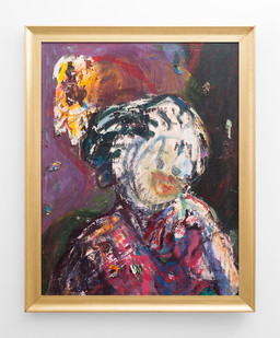 Mostaff Muchawaya | Ndaikuda II | 2017 | Acrylic on Canvas | 114 x 89 cm