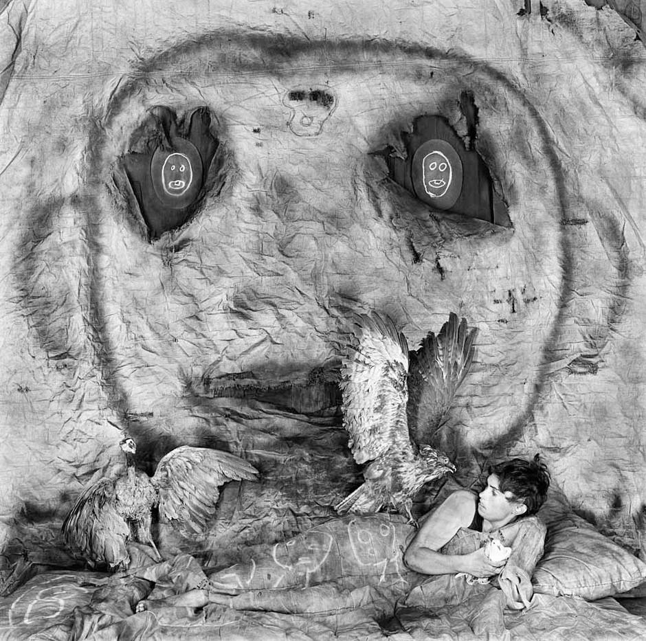 Roger Ballen   Threat   2010   Archival Pigment Print   90 x 90 cm   Edition of 9