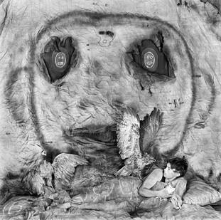 Roger Ballen | Threat | 2010 | Archival Pigment Print | 90 x 90 cm | Edition of 9