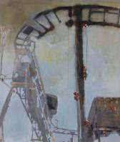 Uwe Wittwer | Gradient | 2011 | Oil on Canvas | 110 x 30 cm