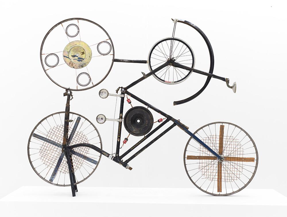 Cyrus Kabiru | Amittai | 2017 | Steel and Found Objects | 150 x 110 x 30 cm