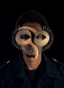 Cyrus Kabiru | Macho Nne 9: Caribbean Peacock  | 2014 | Pigment Ink on HP Premium Satin Photographic Paper |150 x 120 cm | Edition of 3 + 2 AP