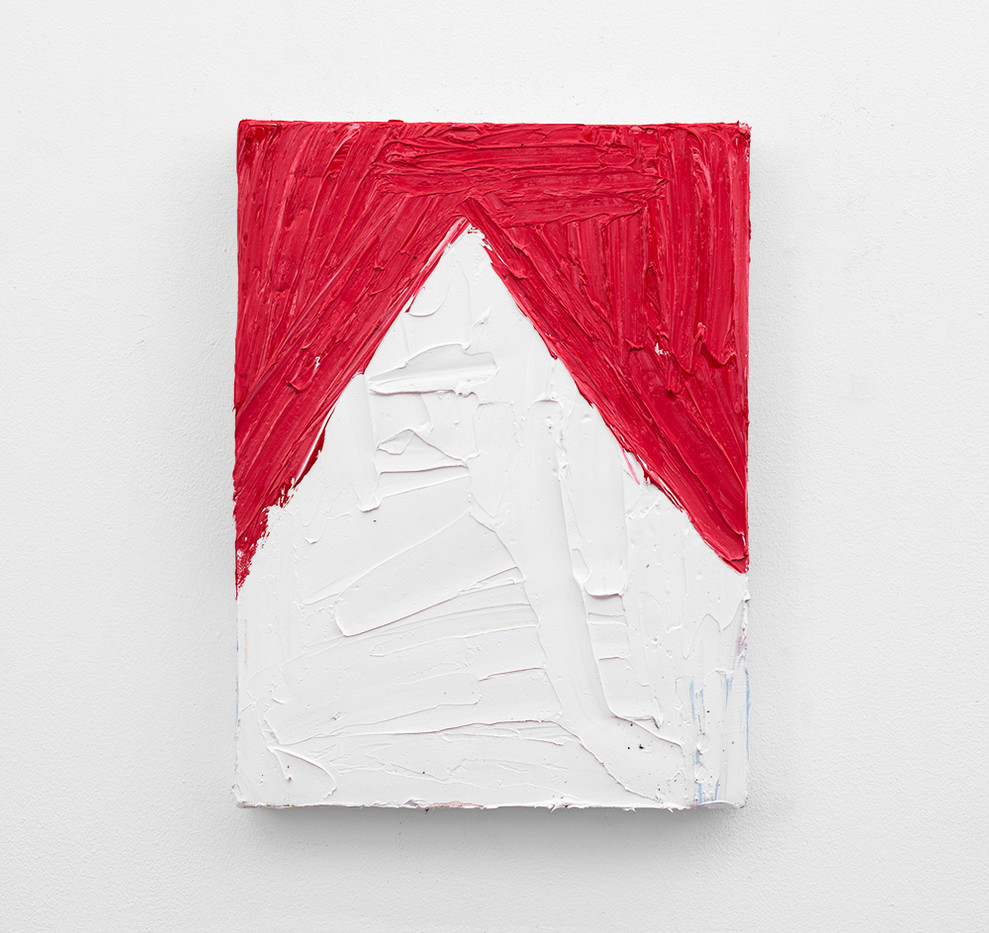 Georgina Gratrix | Marlboro | 2018 | Oil on Canvas | 40 x 30 cm