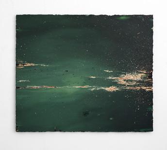 Jake Aikman | Phantom Forest | 2017 | Oil on Board | 112 x 131 cm