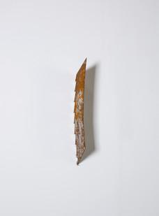 Ruann Coleman | Blade | 2014 | Oxidised Steel Blade | 43 x 12 cm