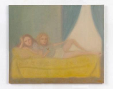 Chechu Álava | The last party | 2020 | Oil on Canvas | 60 x 37 cm