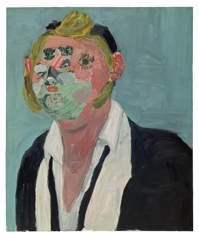 Georgina Gratrix   Mr. Nice to Meet You   2011   Oil on Canvas   120 x 100 cm