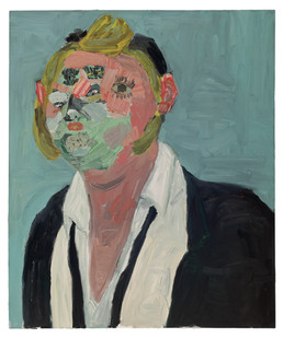 Georgina Gratrix | Mr. Nice to Meet You | 2011 | Oil on Canvas | 120 x 100 cm