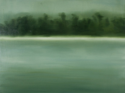 Jake Aikman | S10.295, E120.417 | 2013 | Oil on Canvas | 30 x 40 cm
