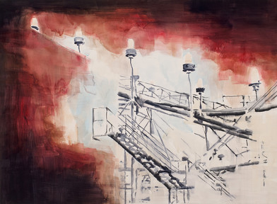 Uwe Wittwer | Gradient | 2012 | Watercolour on Paper | 57 x 76 cm
