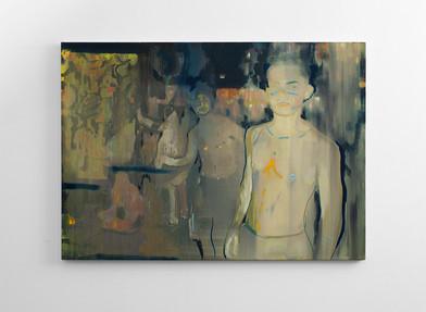 Kate Gottgens | Rattle | 2016 | Oil on Canvas | 80 x 120 cm