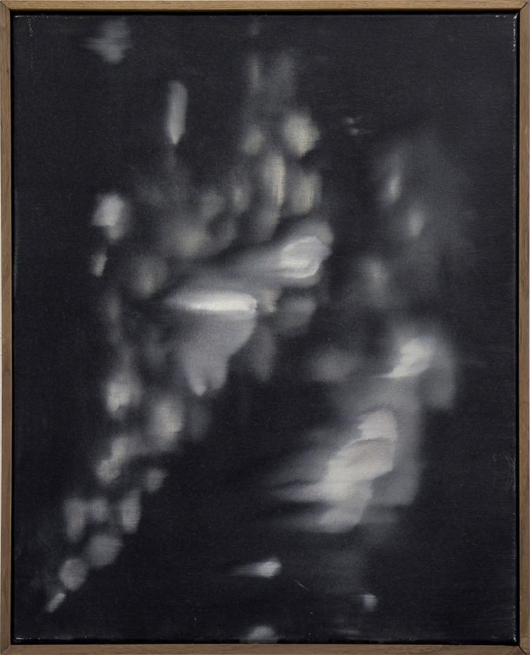 Alexandra Karakashian | Undying XVII | 2017 | Oil on Canvas | 50.5 x 40 cm