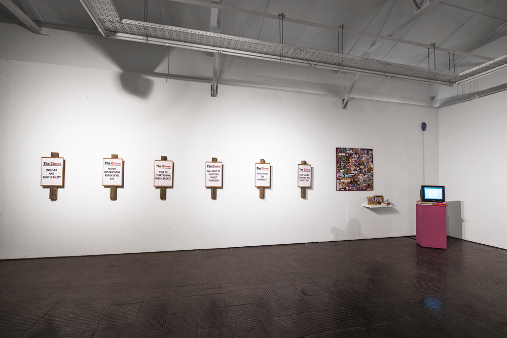 shady tactics | 2018 | Installation View