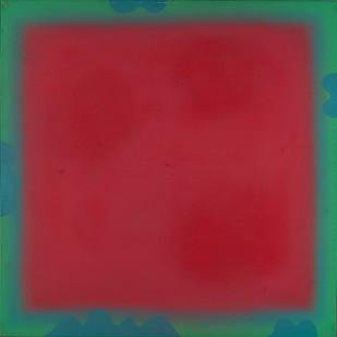 Kevin Atkinson | Untitled | c. 1967 | Acrylic on Canvas | 153.5 x 153.5 cm