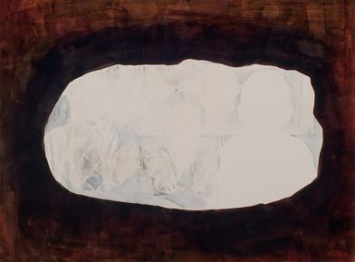 Uwe Wittwer | Geschwister (Siblings) | 2012 | Watercolour on Paper | 57 x 76 cm
