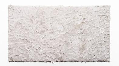Wallen Mapondera | Tuck Shop 2 | 2019 | Toilet Paper on Wooden Frame | 95 x 171.5 x 9 cm