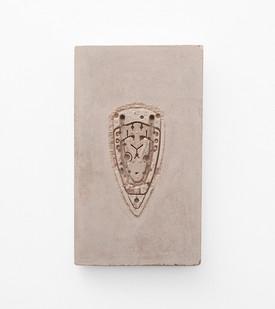 Usha Seejarim | Pressed 02 | 2021 | Cement | 50 x 29 x 2.5 cm