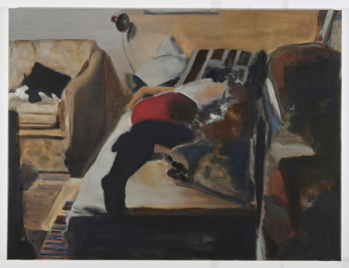 Uwe Wittwer   Interieur   2008   Oil on Canvas   60.5 x 80.5 cm
