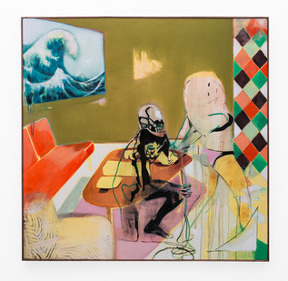 Kate Gottgens | The Big Rip | 2018 | Oil on Canvas | 150 x 150 cm