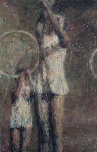 Anton Karstel | /1939-Glaube-und-Schoenheit (V) | 2014 | Oil on Canvas | 170 x 110 cm