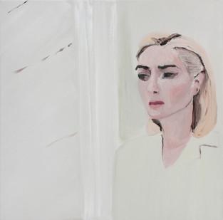 Luiza Cachalia | Sad Kate | 2012 | Oil on Canvas | 61 x 61 cm