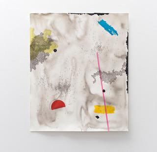 Mongezi Ncaphayi | Pathless Path I | 2017 | Indian Ink and Mixed Media on Paper | 99 x 83.5 cm