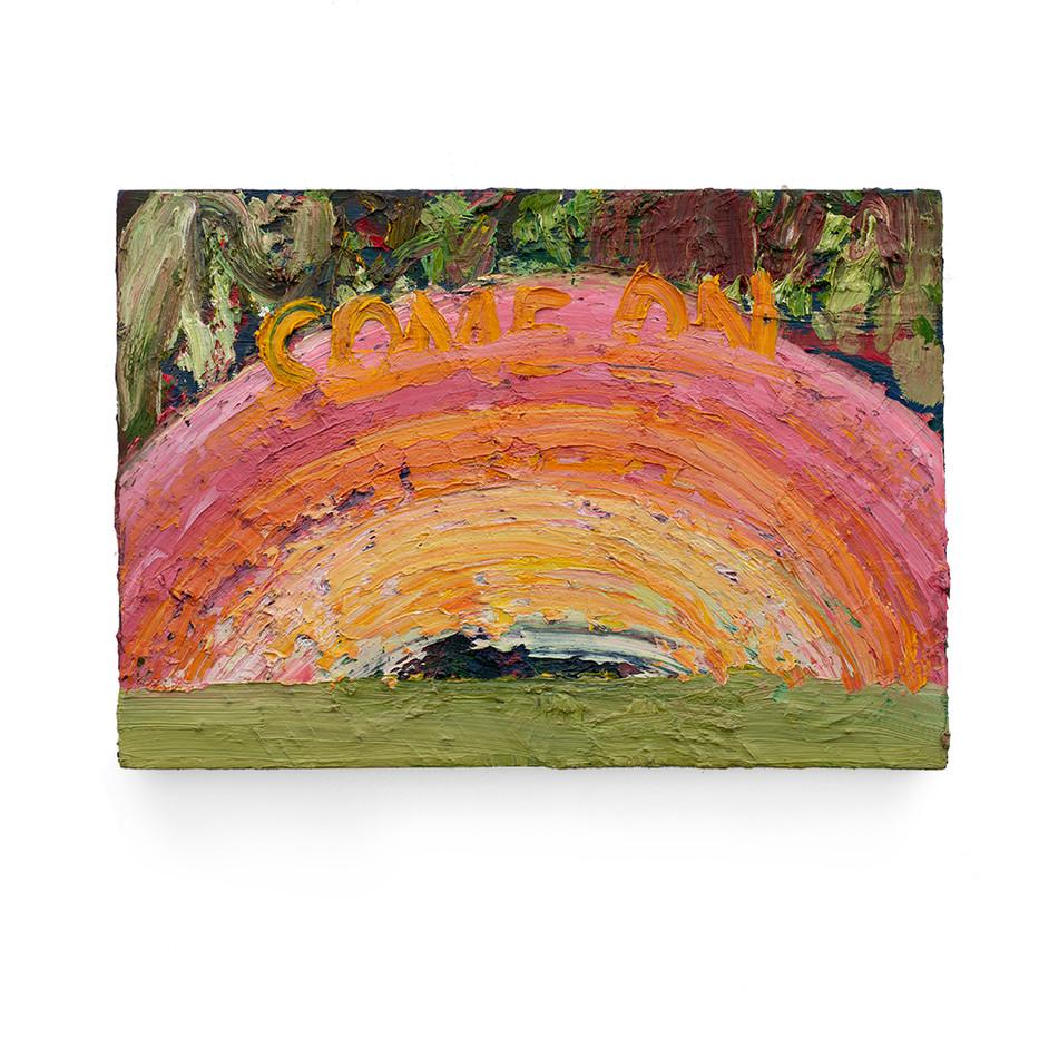 Georgina Gratrix | Come On Over | 2011 | Oil on Canvas | 50 x 72 cm