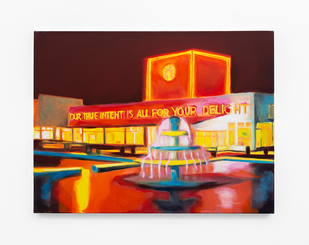 Kate Gottgens | A Promise | 2020 | Oil on Canvas | 68 x 90 cm