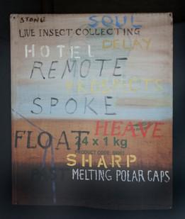 Simon Stone   Float   2014   Oil on Cardboard   40 x 32.5 cm