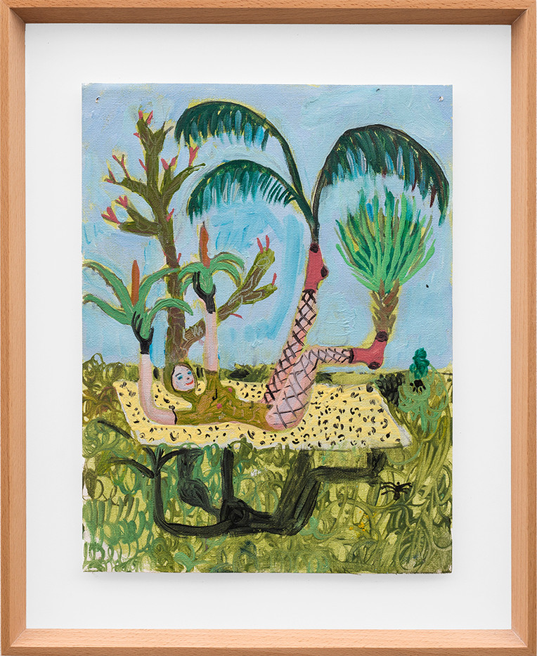 Marlene Steyn   I used to be a garden too   2018   Oil on Canvas   30 x 23 cm
