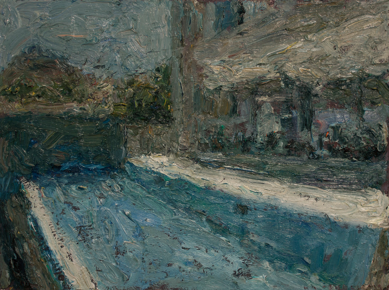 Anton Karstel | Property (Campsbay) 3 | 2014 | Oil on Canvas | 30 x 40 cm