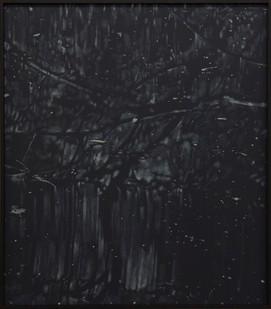 Peter Eastman   Deep Chine - Coldstream IX   2017   Oil on Aluminium   40 x 34 cm