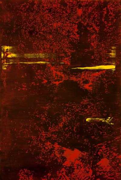 Peter Eastman | Deep Chine XVII | 2014 | Oil on Aluminium | 74 x 45 cm