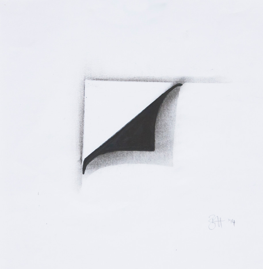 Bridget Hugo | Peal I | 2014 | Pencil on Paper | 19 x 19 cm