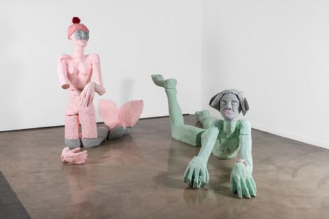 Marlene Steyn | Sphinxy Minx & Muted Fishwife | Installation View | Dimensions Variable