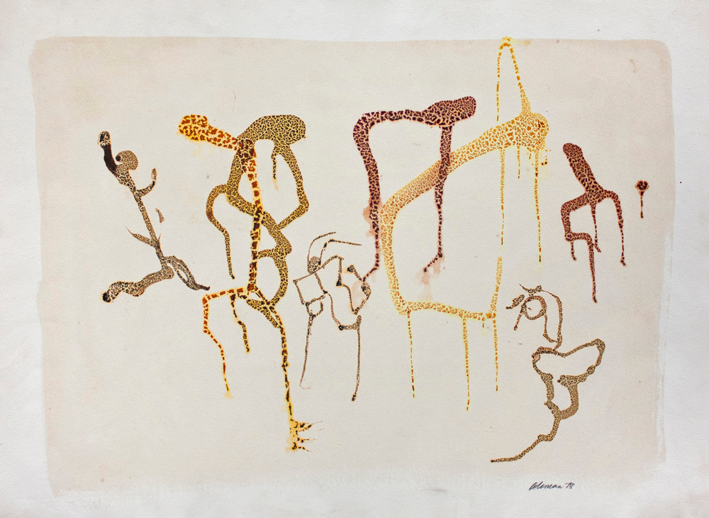 Trevor Coleman | Untitled | 1978 | Mixed Media on Paper | 57 x 76 cm