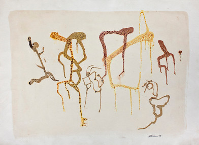 Trevor Coleman   Untitled   1978   Mixed Media on Paper   57 x 76 cm
