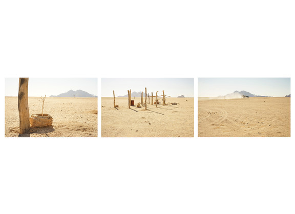 Margaret Courtney-Clarke   Hope in a Sandstorm, Namib Desert, July 2018   2018   Giclée Print on Hahnemühle Photo Rag Paper   33.5 x 50.5 cm Each   Edition of 6 + 2 AP