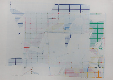 Willem Boshoff | Untitled | 1972 | Silkscreen Print on Paper | 42 x 52 cm