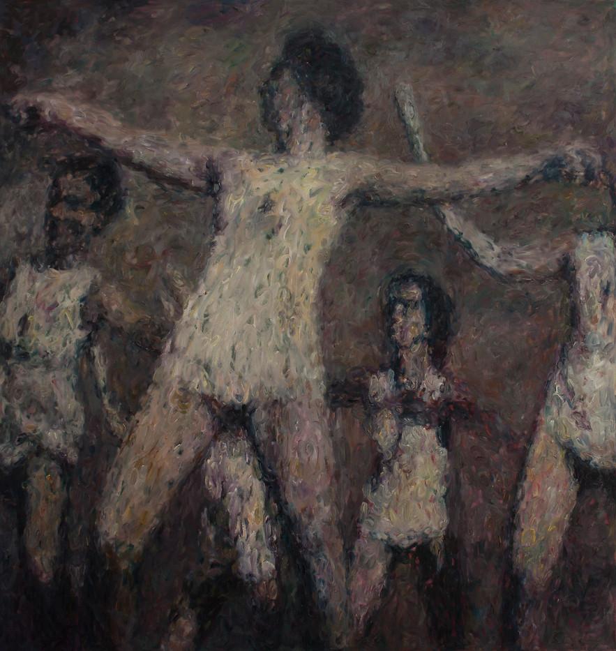 Anton Karstel | /1939-Glaube-und-Schoenheit (IX) | 2014 | Oil on Canvas | 180 x 170 cm