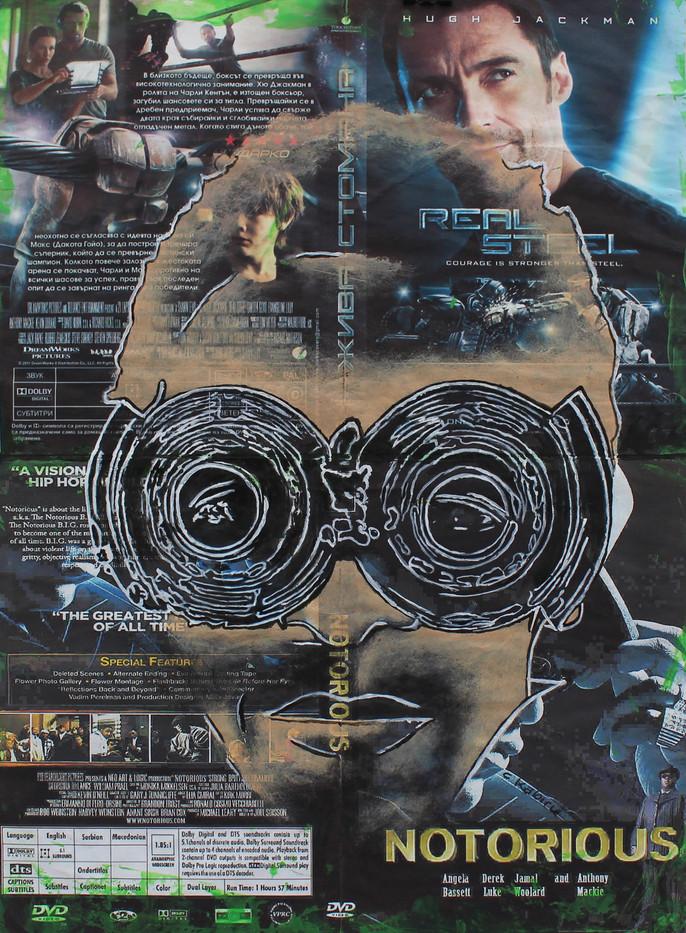 Cyrus Kabiru | Notorious | 2014 | Mixed Media on Paper | 36 x 26.5 cm