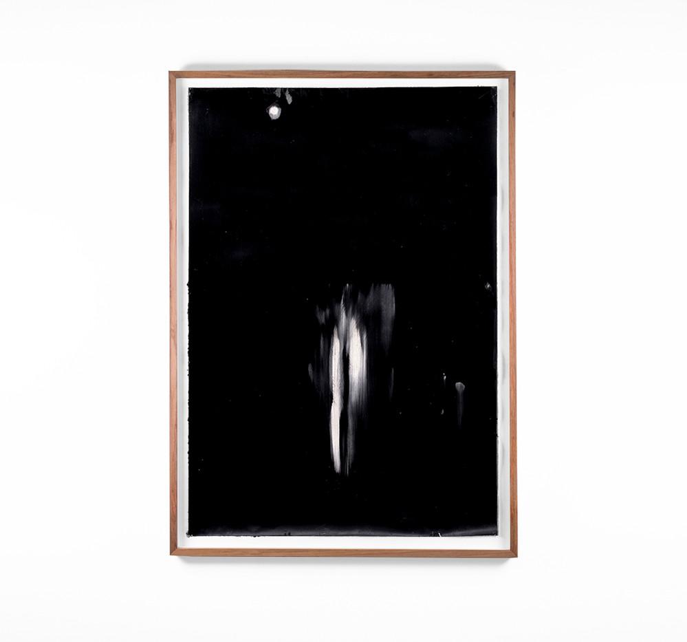 Alexandra Karakashian | Undying XLII | 2018 | Oil on Sized Paper | 99 x 70 cm