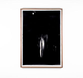 Alexandra Karakashian   Undying XLII   2018   Oil on Sized Paper   99 x 70 cm