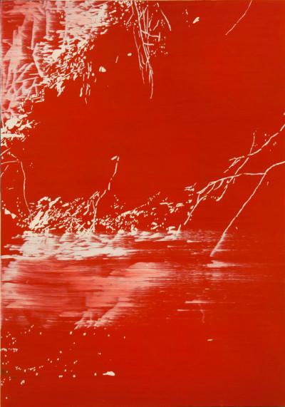 Peter Eastman | Deep Chine V | 2014 | Oil on Aluminium | 95 x 67 cm