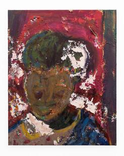 Mostaff Muchuwaya   Untitled   2017   Acrylic on Canvas   81 x 65 cm