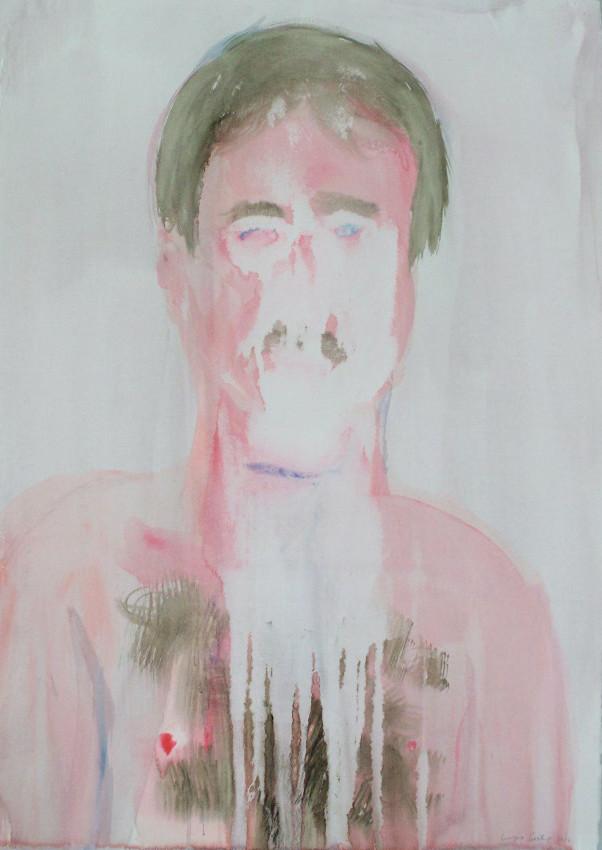 Georgina Gratrix   Tom   2012   Watercolour on Paper   94 x 71 cm