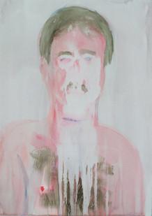 Georgina Gratrix | Tom | 2012 | Watercolour on Paper | 94 x 71 cm