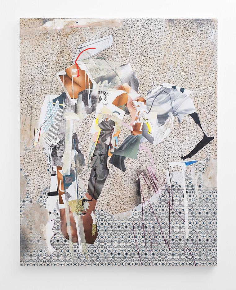 Asha Zero | readme80efc25 | 2018 | Acrylic on Board | 164 x 131 cm