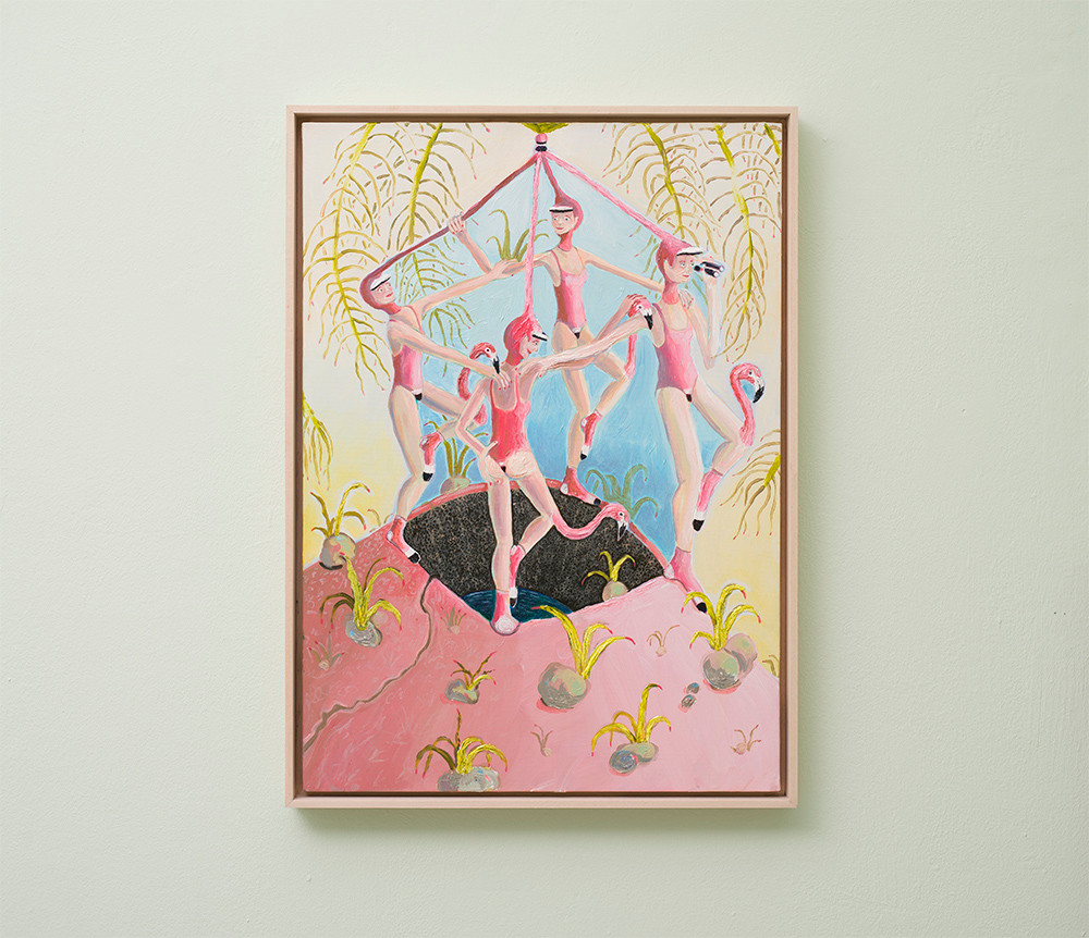 Marlene Steyn | Twitchers of flamboyance | 2018 | Oil on Canvas | 70 x 50 cm