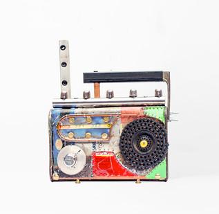 Cyrus Kabiru | Ngamia 1 | 2020 | Steel and Found Objects | 25 x 20 x 8 cm